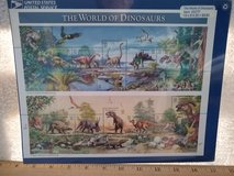 Year 1996 USPS World of Dinosaurs stamps in Wiesbaden, GE