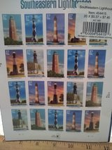 Year 2002 USPS Southeastern Lighthouse stamps in Wiesbaden, GE