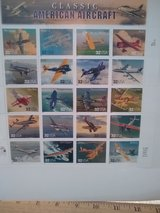 Year 1995 USPS Classic American Aircraft stamps in Wiesbaden, GE