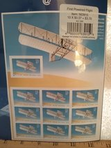 Year 2003 USPS First Flight Wright Brothers stamps in Wiesbaden, GE