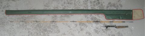 """VINTAGE HEDDON PAL FISHING ROD - # 6322 - 5 1/2"""" - SPECIAL PURPOSE + CASE in Bolingbrook, Illinois"""