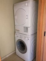 WANTED: stacking washer and dryer 220v in Ramstein, Germany
