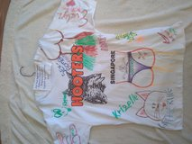 Authentic Hooters Singapore T-Shirt SIgned by waitresses-for that special someone. Proceeds to N... in Camp Pendleton, California