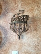 Wire Leaf Basket wall Decorations in Vacaville, California