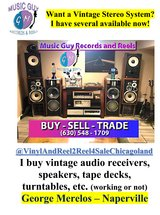 Vintage Home Audio Equipment- Get a complete system - $499 (Naperville) in Glendale Heights, Illinois