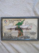 Wire Fence From Korea DMZ; Limited Edition 50th Anniversary Serial #0224346 in Camp Pendleton, California