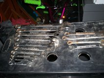 14 craftsman wrenches all USA - 13 standard and 1 - 15mm in Elizabethtown, Kentucky