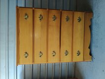 Precious tall dresser with 5 huge drawers in good shape and conditions in Fort Bliss, Texas