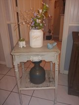 vintage side/accent table in The Woodlands, Texas