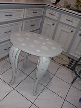 vintage side table in The Woodlands, Texas