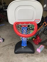 little tikes basketball goal in The Woodlands, Texas