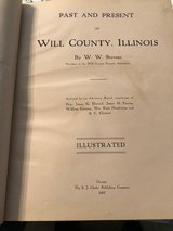 Past and Present  Will County, by W. W. Stevens 1907 in Joliet, Illinois