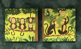 Bed Bath & Beyond Monkey Music Canvas in Fort Campbell, Kentucky