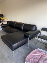 """Family """"L"""" shaped couch in Nellis AFB, Nevada"""