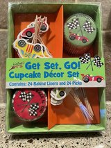 Cars cupcake decor set in Glendale Heights, Illinois