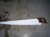 E. C. Atkins & co. vintage 36 inch blade - says 1887 on emblem in Fort Knox, Kentucky