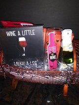 Wine theme - gift basket in The Woodlands, Texas