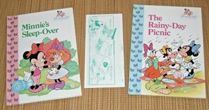 Lot of 2 Vintage 1991 Disney Minnie n Me Best Friends Collection Hard Cover Books in Joliet, Illinois
