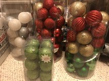 Christmas Ball ornaments (90+) in St. Charles, Illinois