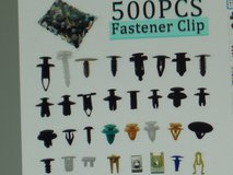 Automotive fastener clips  Approx.450- 500 pieces in Chicago, Illinois