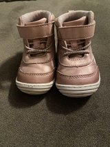 Baby Girl's Pink Stride Rite High Tops 4M in Plainfield, Illinois