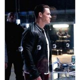 Fast and Furious 9 John Cena Leather Jacket in Fort Drum, New York