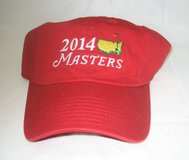 2014 MASTERS (RED) Slouch Golf HAT from AUGUSTA NATIONAL - NEW in Joliet, Illinois