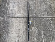Rod & Reel Rod is a Contender Custom Shakespeare Reel is a Synergy TI 20 in Fort Knox, Kentucky