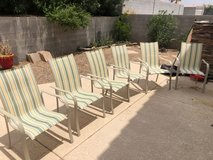 Outdoor Dining Table/6 Chairs in Nellis AFB, Nevada