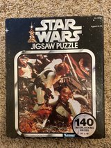 vintage Star Wars jigsaw puzzle in The Woodlands, Texas