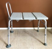 DRIVE Medical Bath Tub/Shower TRANSFER BENCH w/ Adjustable Height Seat (NO BACKREST) in Yucca Valley, California