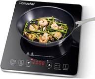 Amzchef Single Induction Hot Plate 2000 W in Davis-Monthan AFB, Arizona