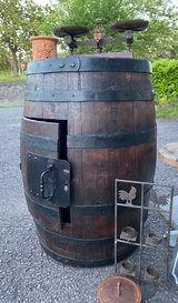 antique barrel ideal as bar in Spangdahlem, Germany