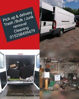 Delivery & Pick up /Trash /Junk removal /cleaning services in Ramstein, Germany