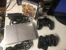 Silver Play Station 2 with 2 controllers and a Game in Fort Knox, Kentucky