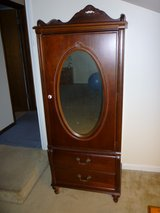 Cherry Wardrobe Armoire, by Stanley Furniture from the Madison line -New Price in St. Charles, Illinois