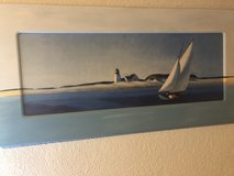 Sail boat painting in Ramstein, Germany