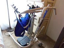 Invacare Get-U-Up Hydraulic Patient Lift W/Sling in Spring, Texas