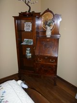 Antique Cherry side by side Secretary and Bookcase -New Price in St. Charles, Illinois