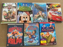 7 Disney DVDs in St. Charles, Illinois
