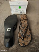 Coach Sandals size 7 in Yucca Valley, California