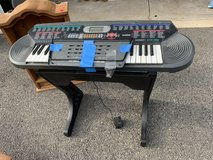 Casio keyboard with stand in Bolingbrook, Illinois