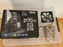 i7 6700K CPU w/ASUS Motherboard and Air Cooler in Ramstein, Germany