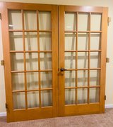 Wood French Door Pair(s). Interior in Glendale Heights, Illinois
