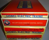 Vintage Lionel trains O gauge /scale Remote Control Switch AND/OR Crossover Track in Bolingbrook, Illinois