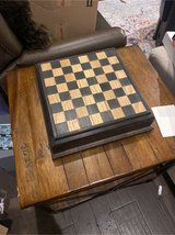 Handmade Chessboard with pieces holder in Fort Knox, Kentucky