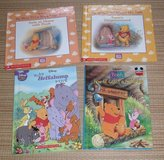 4 Vintage Disney Winnie The Pooh Hard Cover Book in Chicago, Illinois