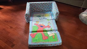 Elmo's World child flip out sofa/couch in St. Charles, Illinois