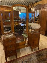 French dressing table with full size mirror in Spangdahlem, Germany