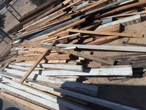 Use wood in Yucca Valley, California